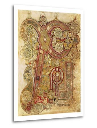 Book of Kells--Metal Print