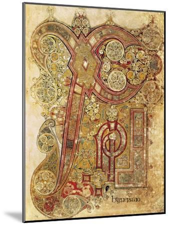 Book of Kells--Mounted Art Print