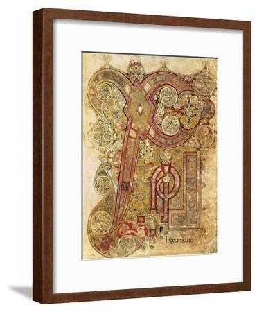 Book of Kells--Framed Art Print