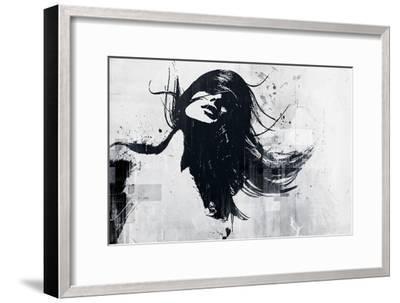 Closer-Alex Cherry-Framed Premium Giclee Print