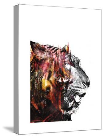 Bloodbeat II-Alex Cherry-Stretched Canvas Print