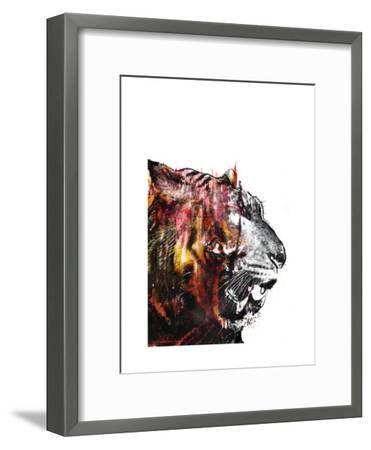 Bloodbeat II-Alex Cherry-Framed Art Print