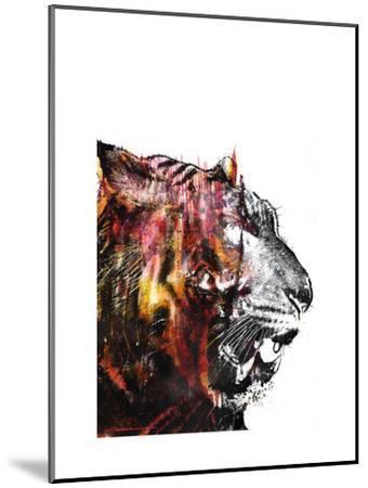 Bloodbeat II-Alex Cherry-Mounted Art Print