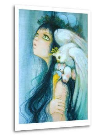 Royal Egg Watcher-Camilla D'Errico-Metal Print