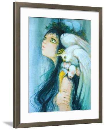 Royal Egg Watcher-Camilla D'Errico-Framed Art Print