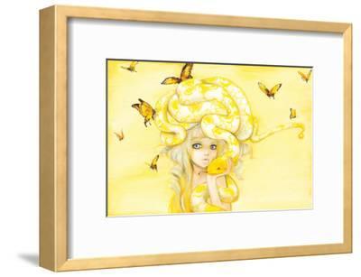 Yuuta-Camilla D'Errico-Framed Art Print