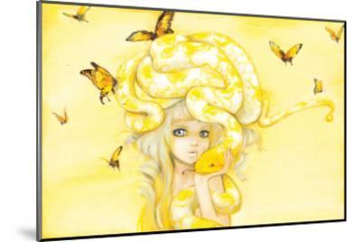 Yuuta-Camilla D'Errico-Mounted Art Print