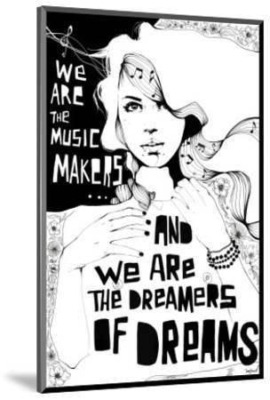 Music Maker-Manuel Rebollo-Mounted Premium Giclee Print
