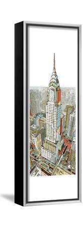 Manhattan-HR-FM-Framed Stretched Canvas Print