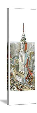 Manhattan-HR-FM-Stretched Canvas Print