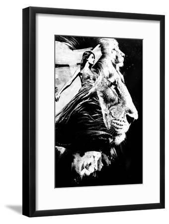 To the Lions-Alex Cherry-Framed Art Print