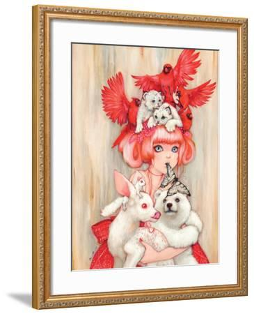 Canadian Tiger-Camilla D'Errico-Framed Art Print