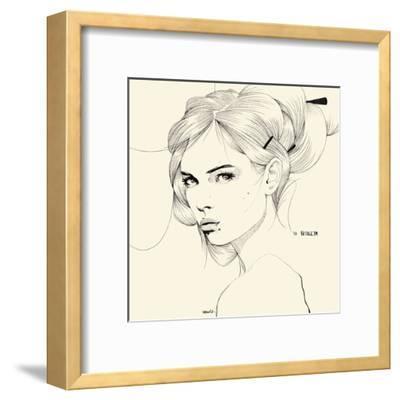 Sutileza-Manuel Rebollo-Framed Art Print