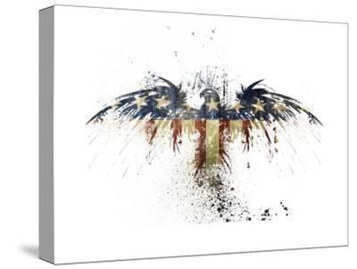 Eagles Become-Alex Cherry-Stretched Canvas Print
