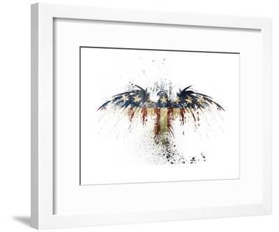 Eagles Become-Alex Cherry-Framed Art Print