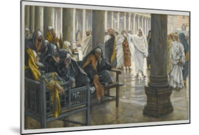 Woe Unto You, Scribes and Pharisees, Illustration from 'The Life of Our Lord Jesus Christ', 1886-94-James Tissot-Mounted Giclee Print