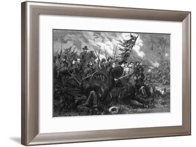 The Campaign in Virginia - 'On to Richmond', from 'Harper's Weekly', 1864-Thomas Nast-Framed Giclee Print