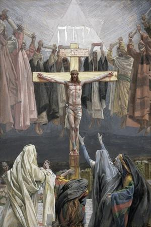 It Is Finished, Illustration for 'The Life of Christ', C.1886-94-James Tissot-Stretched Canvas Print