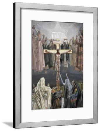 It Is Finished, Illustration for 'The Life of Christ', C.1886-94-James Tissot-Framed Giclee Print