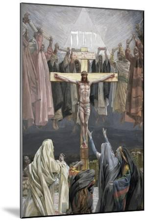 It Is Finished, Illustration for 'The Life of Christ', C.1886-94-James Tissot-Mounted Giclee Print