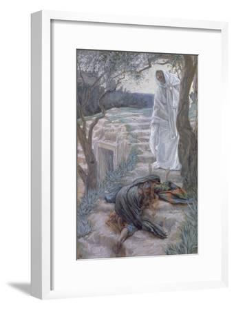 Noli Me Tangere, Illustration for 'The Life of Christ', C.1884-96-James Tissot-Framed Giclee Print