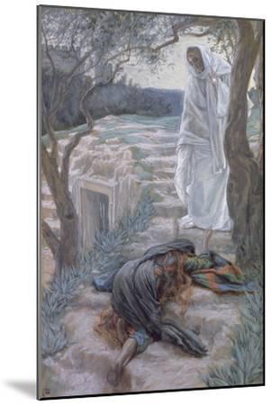 Noli Me Tangere, Illustration for 'The Life of Christ', C.1884-96-James Tissot-Mounted Giclee Print