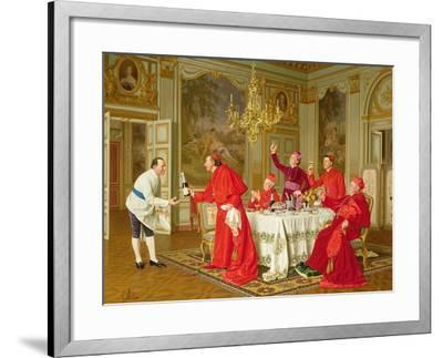 Louis Xiv's Apartments at Versailles, the Chef's Birthday-Andrea Landini-Framed Giclee Print