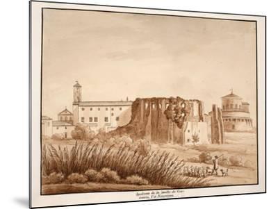 Hippodrome of the Family of Constantine, Via Nomentana, 1833-Agostino Tofanelli-Mounted Giclee Print