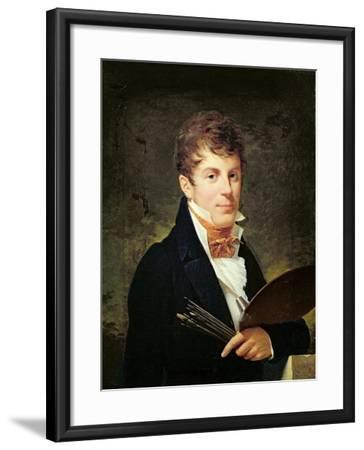 Portrait of Lancelot Theodore Turpin De Crisse-Louis Andre Gabriel Bouchet-Framed Giclee Print