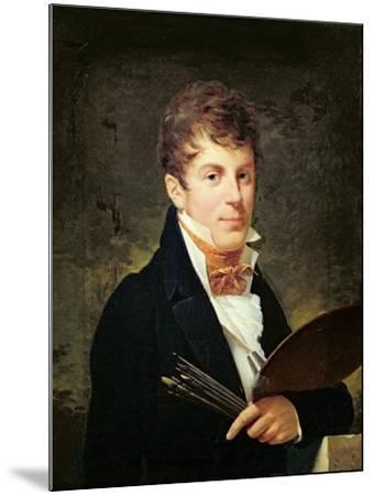 Portrait of Lancelot Theodore Turpin De Crisse-Louis Andre Gabriel Bouchet-Mounted Giclee Print