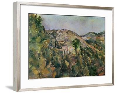 View of the Domaine Saint-Joseph, Late 1880S-Paul C?zanne-Framed Giclee Print