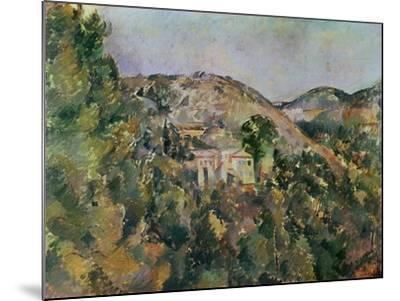 View of the Domaine Saint-Joseph, Late 1880S-Paul C?zanne-Mounted Giclee Print