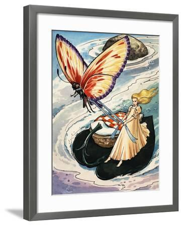 Thumbelina, from the Fun in Toyland Annual, 1959-Nadir Quinto-Framed Giclee Print