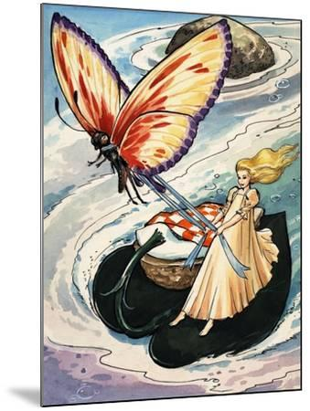 Thumbelina, from the Fun in Toyland Annual, 1959-Nadir Quinto-Mounted Giclee Print