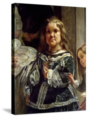 Las Meninas or the Family of Philip Iv, C.1656-Diego Velazquez-Stretched Canvas Print
