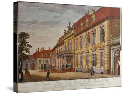 The Palace of Prince Ferdinand of Prussia, Berlin-Johann Carl Wilhelm Rosenberg-Stretched Canvas Print