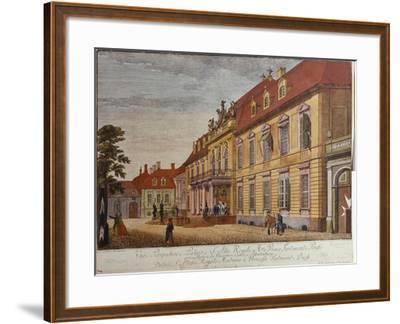 The Palace of Prince Ferdinand of Prussia, Berlin-Johann Carl Wilhelm Rosenberg-Framed Giclee Print