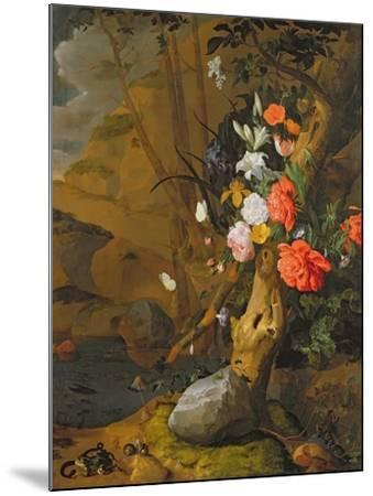Peonies, Roses, Lilies, Poppies and Other Flowers-Rachel Ruysch-Mounted Giclee Print