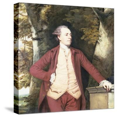 Portrait of Richard Crofts of West Harling, Norfolk-Sir Joshua Reynolds-Stretched Canvas Print