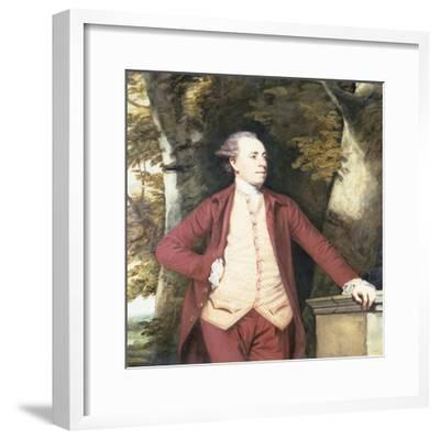Portrait of Richard Crofts of West Harling, Norfolk-Sir Joshua Reynolds-Framed Giclee Print