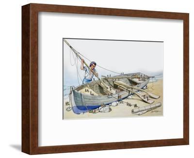 Gulliver's Travels, from 'Treasure', 1966-Mendoza-Framed Premium Giclee Print
