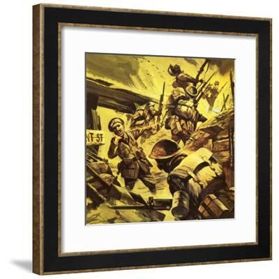 Wilfred Owen in the First World War-Gerry Wood-Framed Giclee Print