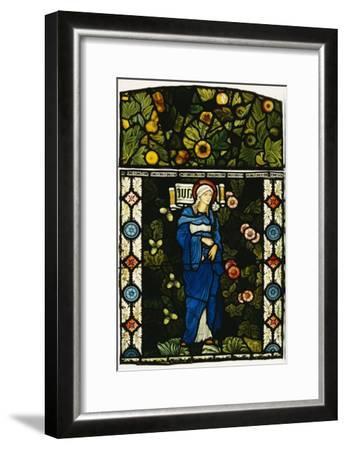 The Blessed Virgin Mary, Morris and Co.-Edward Burne-Jones-Framed Giclee Print