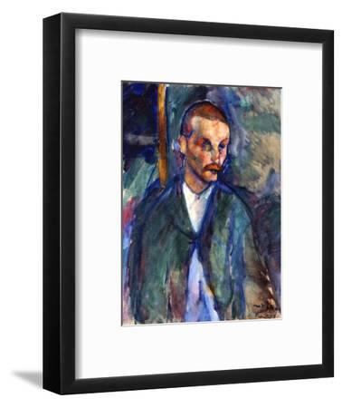 The Beggar of Livorno, August 1909-Amedeo Modigliani-Framed Premium Giclee Print