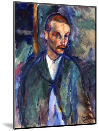 The Beggar of Livorno, August 1909-Amedeo Modigliani-Mounted Premium Giclee Print