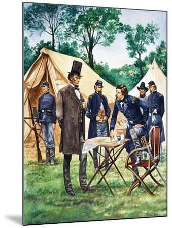 When They Were Young: Abraham Lincoln-Peter Jackson-Mounted Giclee Print