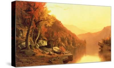Shawanagunk Mountains, Autumn, 1863- McEntee-Stretched Canvas Print