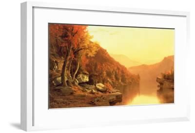 Shawanagunk Mountains, Autumn, 1863- McEntee-Framed Giclee Print