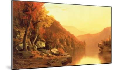 Shawanagunk Mountains, Autumn, 1863- McEntee-Mounted Giclee Print