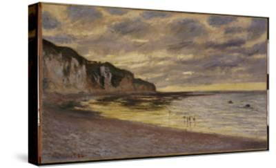 Pointe De Lailly, Maree Basse, 1882-Claude Monet-Stretched Canvas Print